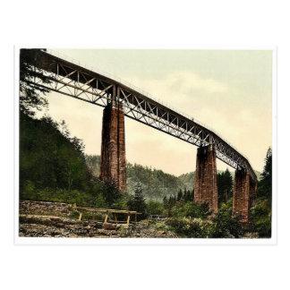 Viaduct over Ravenna Ravine, Hollenthal Railway, B Postcard