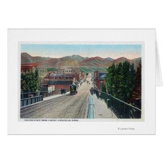 Viaduct View of Center StreetPocatello, ID Card