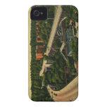 Viaducto amplio del St., vintage del Monte Vernon  Case-Mate iPhone 4 Funda