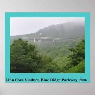 Viaducto azul de la ensenada de Linn de la ruta ve Impresiones