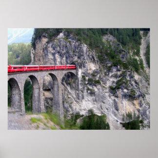 Viaducto de Landwasser en Suiza Impresiones