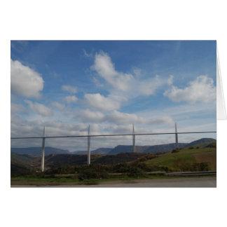 Viaducto de Millau, Francia Tarjeta Pequeña