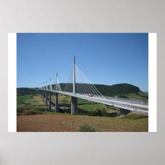 Viaducto de Millau Póster