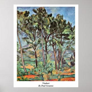Viaducto de Paul Cezanne Posters