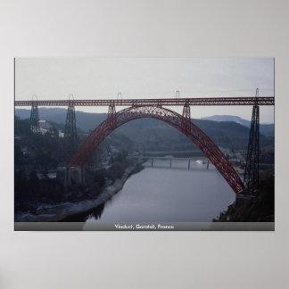 Viaducto, Garatsit, Francia Impresiones