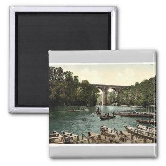 Viaducto, Gorlitz, Silesia, Alemania Photochrom ra Iman