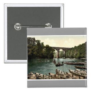 Viaducto, Gorlitz, Silesia, Alemania Photochrom ra Pin