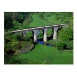 Viaducto, Monsal Dale, distrito máximo, Derbyshire Postales