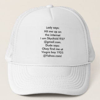 Viagraboy 1925 Dating On the Internet Hat