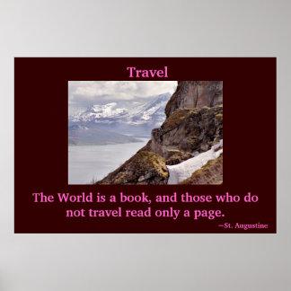 Viaja el poster del mundo