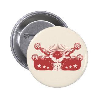 Viajantes de Vitruvian Pin Redondo 5 Cm