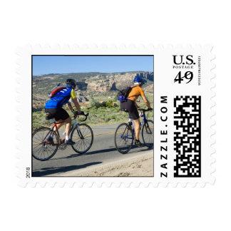 Viajar a ciclistas en franqueo occidental del CO Sellos