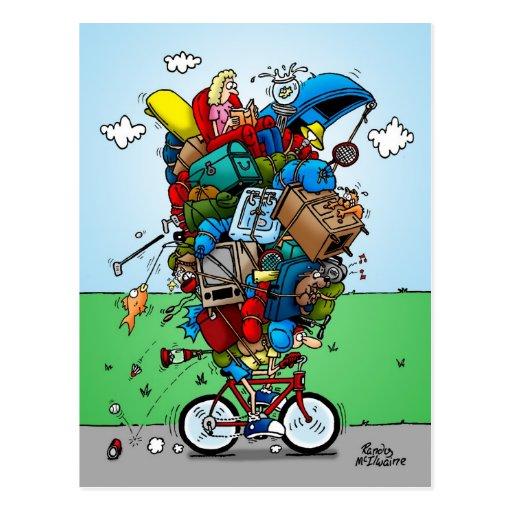 Viajar a la postal de la bici