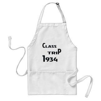 Viaje 1934 de la clase delantal