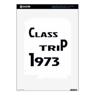 Viaje 1973 de la clase pegatinas skins para iPad 3