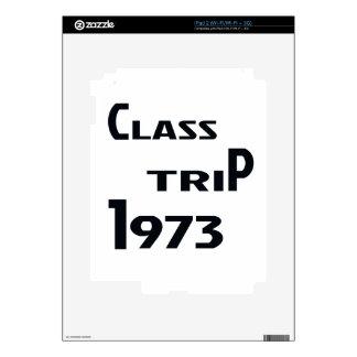 Viaje 1973 de la clase skins para eliPad 2