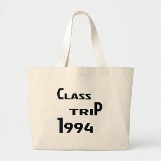 Viaje 1994 de la clase bolsa tela grande