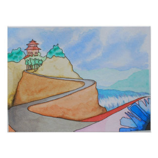 Viaje a Buda Posters