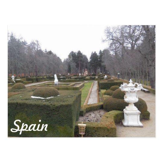 Viaje a España Postal