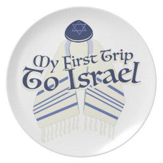 Viaje a Israel Platos