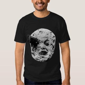 Viaje a la camiseta de la luna playera