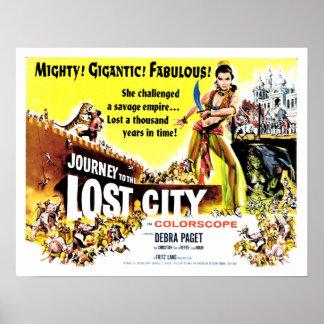 Viaje a la ciudad perdida póster