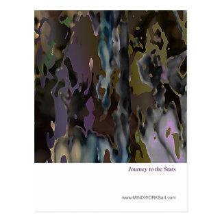 Viaje a las estrellas tarjetas postales