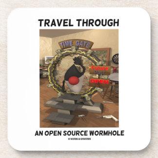 Viaje a través de un Wormhole de Open Source (duqu Posavasos De Bebidas