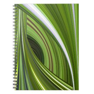 Viaje a través del cuaderno de las curvas (en verd