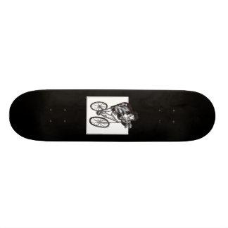 Viaje accidentado patines personalizados