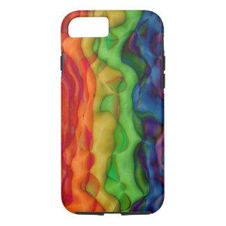 Viaje ácido del arco iris del hippy de Psychedlic Funda iPhone 7
