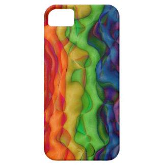 Viaje ácido del arco iris del hippy de Psychedlic iPhone 5 Funda
