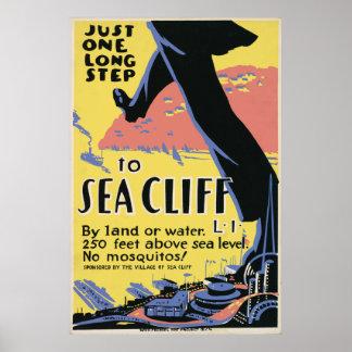 Viaje al acantilado del mar poster