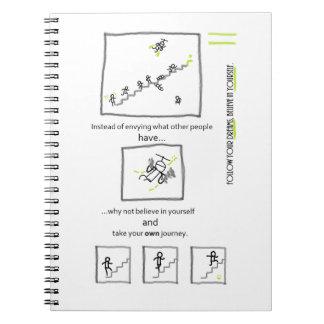 Viaje al cuaderno del éxito
