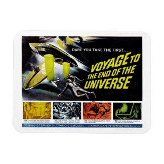 Viaje al extremo del universo imán rectangular