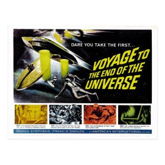 Viaje al extremo del universo postales