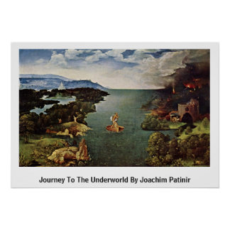 Viaje al mundo terrenal de Joaquín Patinir Posters