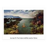 Viaje al mundo terrenal de Joaquín Patinir Tarjetas Postales