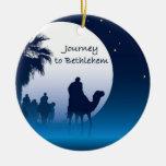 Viaje al ornamento de Belén Adornos De Navidad