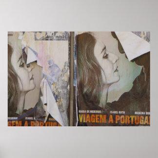 Viaje al poster de Portugal