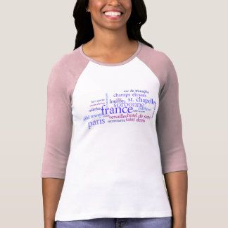 Viaje al rosa de París Camisetas