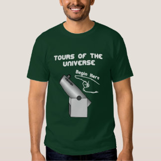 Viaje al universo camisas