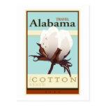 Viaje Alabama Tarjeta Postal