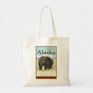 Viaje Alaska Bolsa Tela Barata