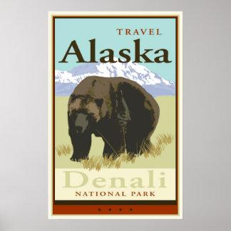Viaje Alaska Poster