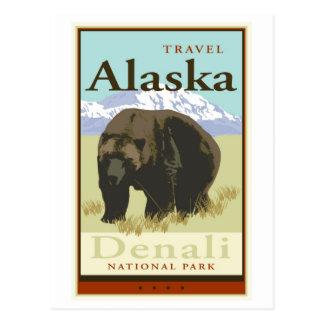 Viaje Alaska Postales