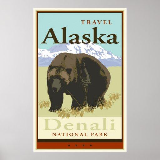 Viaje Alaska Póster