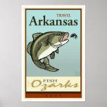 Viaje Arkansas Póster