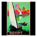 Viaje Arte-Egipto del Poster-Vintage