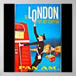 Viaje Arte-Londres del Poster-Vintage